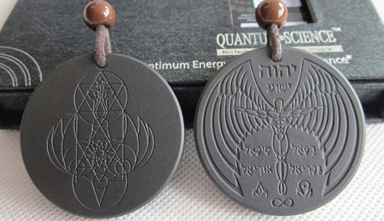 ANGEL Wings Scalar Energy Quantum Pendant
