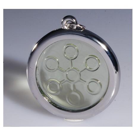 BIO DISC Crystal Quantum Pendant